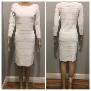 Ralph Lauren long sleeve white dress